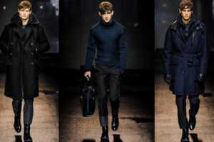 Salvatore Ferragamo Fall 2013 Menswear Line is an Edgy Delight
