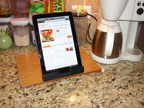 iPad holding accessory  