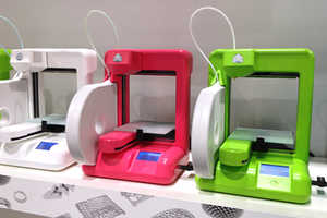 The Cubex 3D Printer by Cubify Can Produce a Basketball