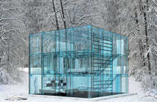 Wintry Glass Houses