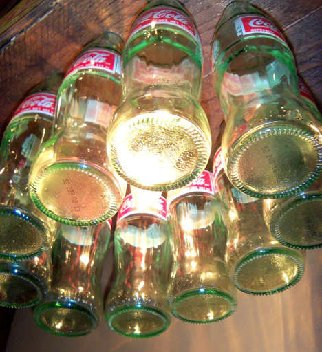 Glass Bottle Lighting