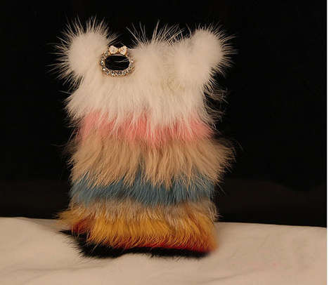 Colorful Fur iPhone Case