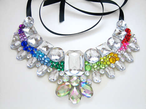 Rhinestone Statement Necklaces