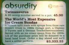 $3,333.33 Ice Cream Sundaes - Three Twins Ice Cream