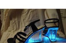 Glowing Heels - LED Alina Shoes