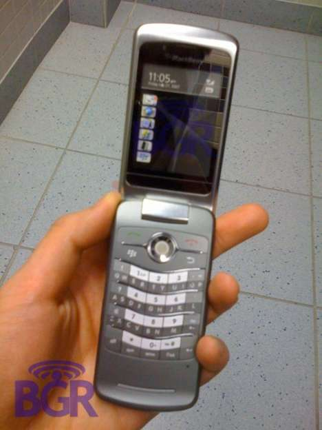 BlackBerry Clamshell Flip Phones