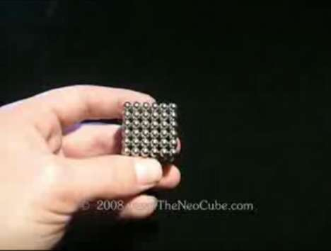 Magnetic Puzzles With Infinite Solutions - The NeoCube