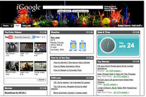 iGoogle Artist Themes Include Dolce & Gabbana