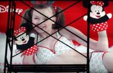 Disney Ad Shows Little Girl in Lingerie
