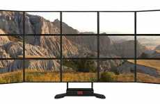 Digital Display Walls - 9XMedia 15-Monitor Display