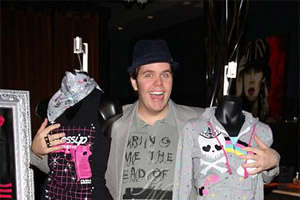 Perez Hilton Launches Fashion Line