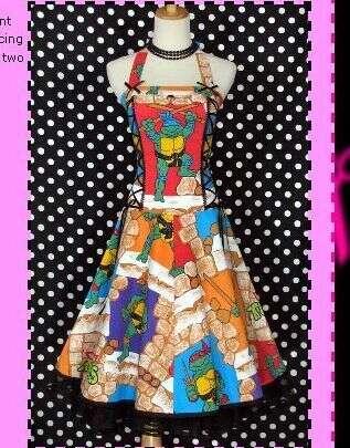 Retro Fantasy Wardrobes - Vintage Cartoon and Sci-Fi-Dresses