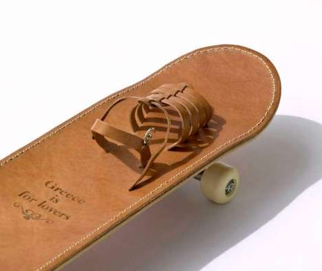 Ancient Greek Sandal Skateboard
