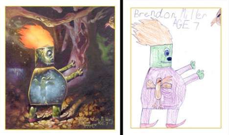 Kid Drawings Made Realistic