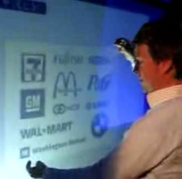 Intelligent Whiteboards - Microsoft TouchWall