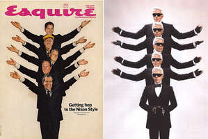 Esquire's Most Iconic Issues Madeover