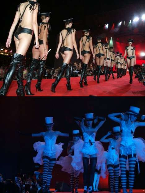 Fantasy Fashion For Charity - Agent Provocateur at Life Ball 2008