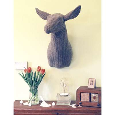 Knitted Taxidermy