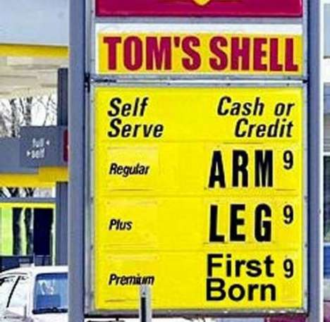 Gas Price Mapping - MSN Gas Widget