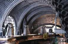 Alien-Themed Architecture - Giger Bar