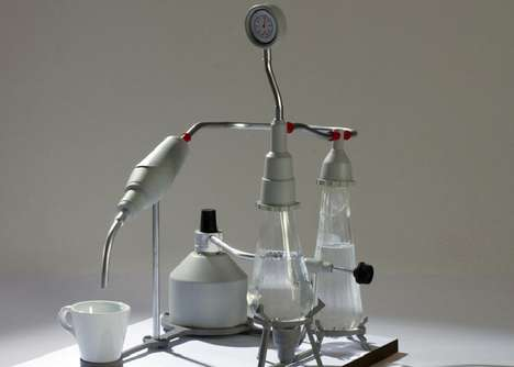 Chemistry Set Espresso Makers - This Coffee Maker Takes Inspiration From the Science Lab