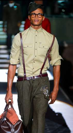 Dsquared² fall 2013 men
