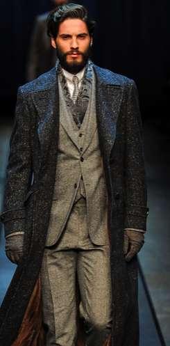 Luxe Russian Menswear