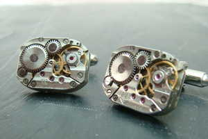 Pete Level Makes New Out of the Old with Jewelry from Watch Movements