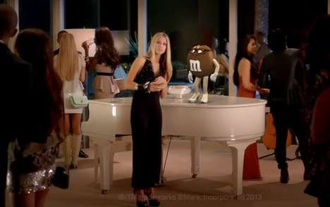 Personified Chocolate Commercials - In this M&M's Commercial the Brown M&M Sets Up the Red M&M