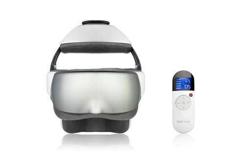 Robotic Stress Relievers - The iDream3 Eye and Head Massager Gives You a Relaxing Robotic Experience