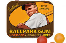 Ballpark Gum Tastes like Hotdogs, Peanuts and Beer to Please Fans