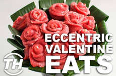 Eccentric Valentine Eats - Armida Ascano Unveils Weird Valentine&#8217;s Day Food for Daring Lovers