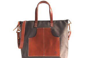 40 Modern Messenger Bags - From Spaceship Storage Satchels to Poverty-Ending Purses
