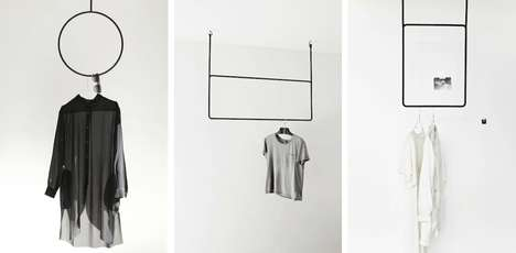 Geometric Clothing Rails