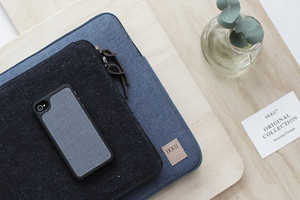 Ikku Converts Denim and Canvas into Electronic Sleeves
