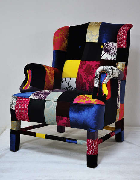 Hippy Chic Furniture Lisa Whatmough S Patchwork Sofas
