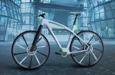 Sleek Reimagined E-Bikes - The eCycle Electric Bike Has a Frame Reworked for its Hi-Tech Operation