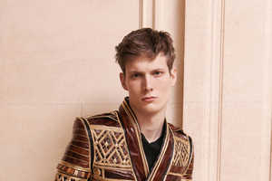 Cultural Worlds Collide in the Balmain Fall/Winter 2013 Editorial