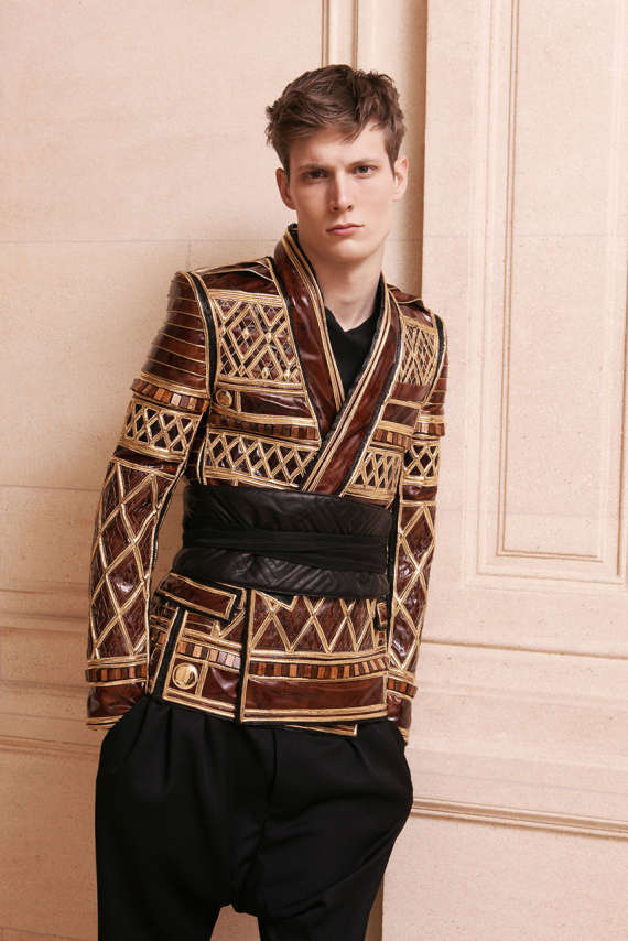 balmain fall winter 2013