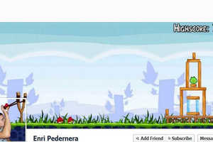 Facebook Users Use Timeline Cover Photo Space to Express Fun and Creativity
