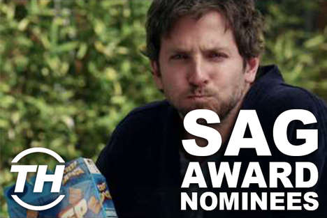 Split Personality Stars - 2013 SAG Award Nominees Show off a Different Side of Themselves