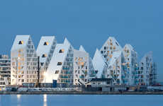 Glacier-Inspired Buildings
