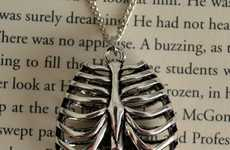 Artistically Anatomical Necklaces
