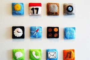 Turn Your Fridge into an iPhone with Handmade iPhone Magnets