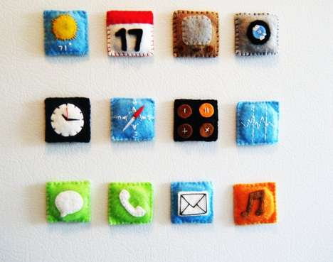 Handmade iPhone Magnets
