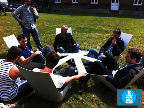 Bottlebench Social Garden Furniture