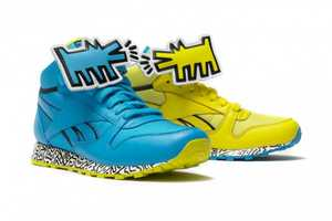 The Reebok x Keith Haring Foundation Footwear Raises Awareness