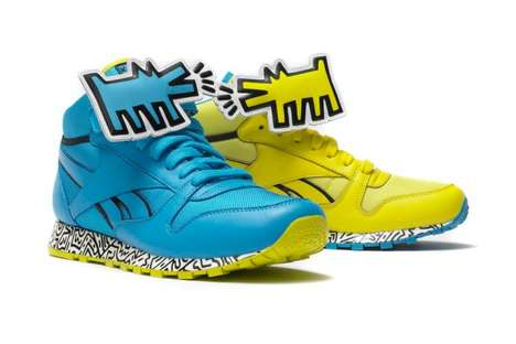 keith haring foundation footwear