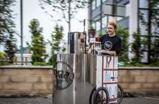 Energizing Espresso Tricycles - The 'Velopresso' is a Mobile Espresso Making Machine