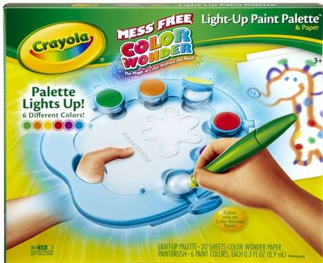 Crayola Light-Up Paint Palette
